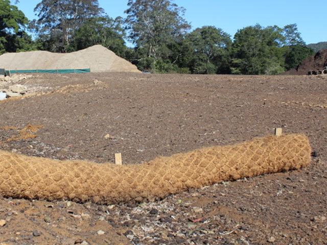 Coir Logs Supply and Install